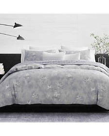 Vera Wang - Ghost Floral Percale Bedding Collectio