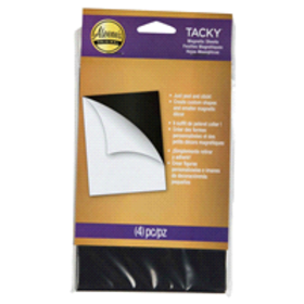 Aleene's Tacky Magnetic Sheets 4 Pack