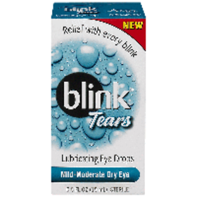 Blink Tears Lubricating Eye Drops, 0.5 oz