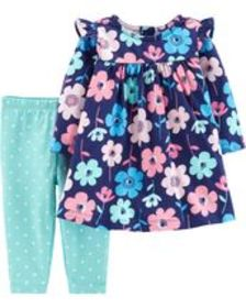 Osh Kosh Baby Girl2-Piece Floral Dress & Polka Dot