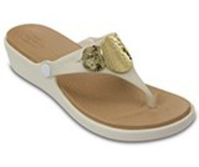 Women's Sanrah Embellished Wedge Flip
