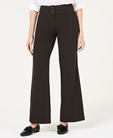 Style & Co Stretch Wide-Leg Pants, Created for Mac