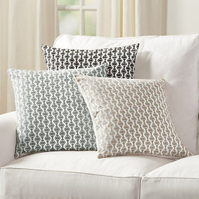 Aria Embroidered Pillow Cover