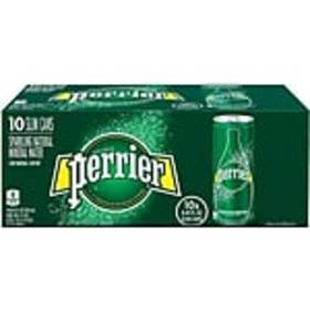 Perrier Natural Mineral Sparkling Water, 8.45 Oz.,