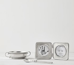 Pottery Barn Classic Pewter Keepsakes Collection