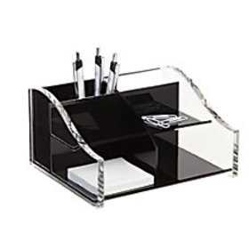 Realspace Acrylic Desk Organizer 4 516 on sale at Office Depot