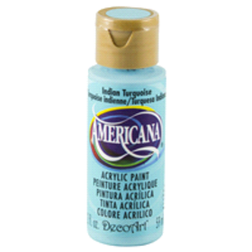 Americana Acrylic Paint Indian Turquoise 2 oz