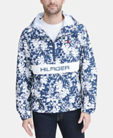 Tommy Hilfiger Men's Taslan Popover Jacket, Create