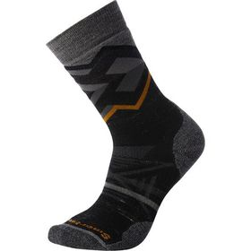Smartwool PhD Outdoor Medium Pattern Crew Sock - M