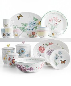 Lenox Serveware, Butterfly Meadow Collection