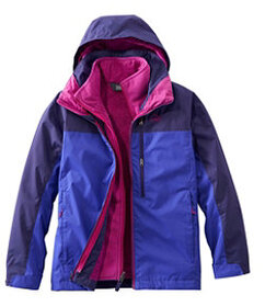 LL Bean Kids' Adventure Seeker 3-in-1 Parka, Color