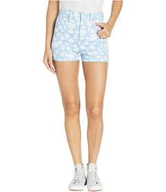 Juicy Couture Denim Pearl Embellished Shorts