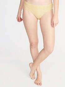 Low-Rise Hipster Swim Bottoms for Wo