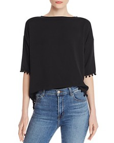 FRENCH CONNECTION - Pom Pom Polly Top