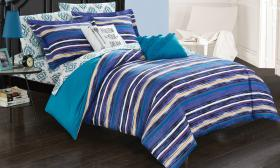 Chic Home Reversible Boho Bed in a Bag Comforter S