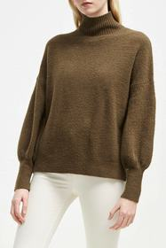 French Connection Orla Flossy Balloon Sleeve Sweat