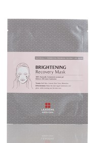 Leaders Cosmetics Brightening Recovery Mask - Pack