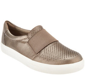 """As Is"" Earth Origins Perforated Leather Slip-On S"