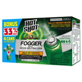 Spectracide Hot Shot Indoor Fogger with Odor Neutr