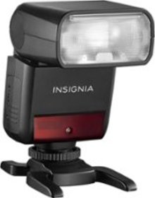 Insignia™ - Compact TTL Flash for Sony Cameras