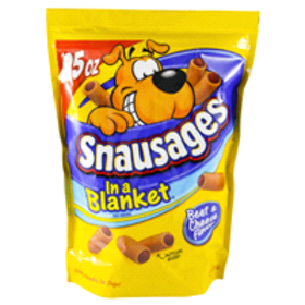 Snausages In a Blanket® Beef & Cheese Flavor Dog S