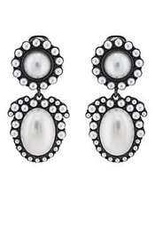 Kenneth Jay Lane Imitation-Pearl Clip-On Earrings