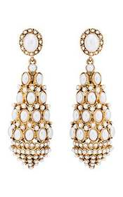 Kenneth Jay Lane Imitation-Pearl Drop Earrings