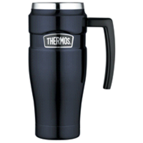 Thermos® Stainless King Midnight Blue Travel Mug,