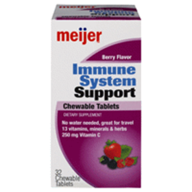 Meijer Immune System Support Berry Flavor Chewable