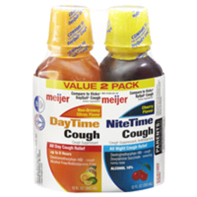 Meijer Day/Nite Cough Combo Pack 12 fl oz each, 2
