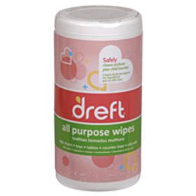 Dreft® All Purpose Wipes, 70 ct