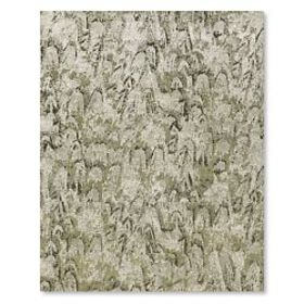 Feather Hand Knotted Rug, Slate