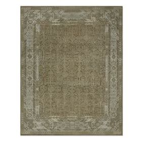 Iridescent Hand Knotted Rug, Beige