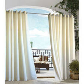 Gazebo Indoor/Outdoor Curtain Panel - Natural