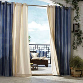 Gazebo Indoor/Outdoor Curtain Collection