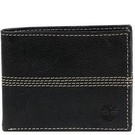 Timberland Leather Four Stitch Bi-Fold Wallet