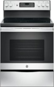 GE - 5.3 Cu. Ft. Freestanding Electric Convection