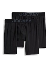 Jockey 2-Pack Athletic RapidCool Midway Briefs BLA