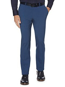 Perry Ellis Slim-Fit Straight Leg Dress Pants BAY