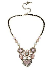 Betsey Johnson Crystallized Vintage Heart Six-Piec
