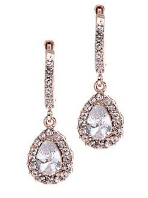 Givenchy Teardrop Earrings ROSE GOLD