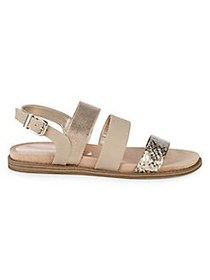 Anne Klein Essence Strappy Sandals NATURAL