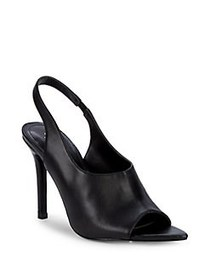 Charles by Charles David Trapp Leather Slingback S