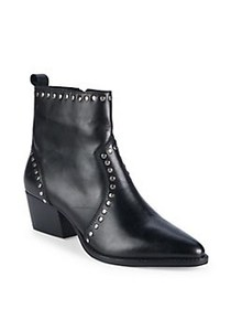 Charles by Charles David Zye Leather Booties BLACK
