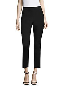 Donna Karan Seamed Cropped Leggings BLACK