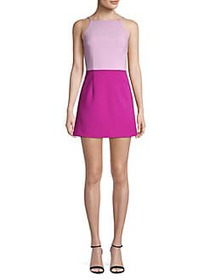 French Connection Sleeveless Colorblock Mini Dress