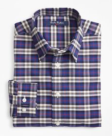 Brooks Brothers Boys Non-Iron Supima® Cotton Plaid