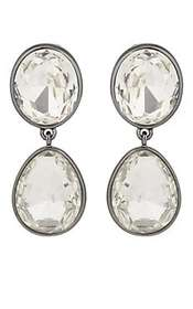 Kenneth Jay Lane Headlight Drop Earrings