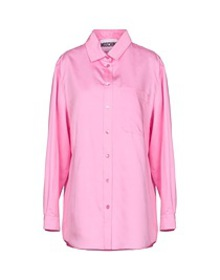 MOSCHINO - Solid color shirts & blouses