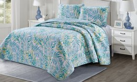 Home Style Tropical Quilt Set (2- or 3-Piece)